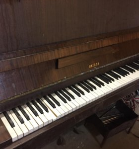 Пианино рабочее