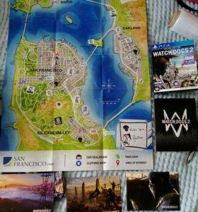 Watch Dogs 2 карта местности и открытки