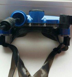 Подводная маска с видеокамерой