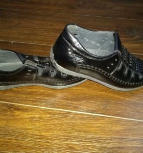 Мужские детские туфли