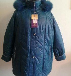 Новая зимняя куртка рр 48-50 ,58-60