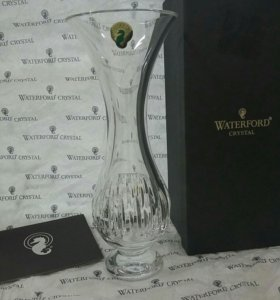 ВАЗА WATERFORD CRYSTAL 23см.