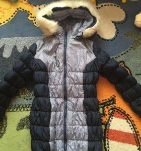 Зимняя Куртка для беременных, слинг