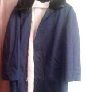 Куртка зимняя на натуральной цигейке