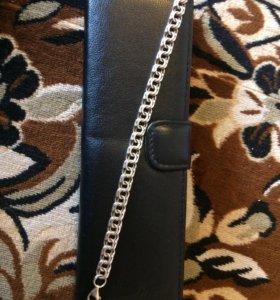 Мужской браслет , серебро