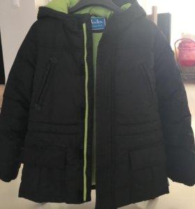 Куртка на мальчика зима б/у