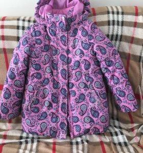 Куртка на девочку ( зима)