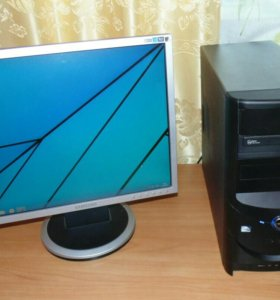 Компьютер 4 ядра с ЖК монитором