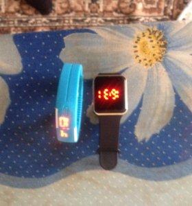 Часы электронные новые