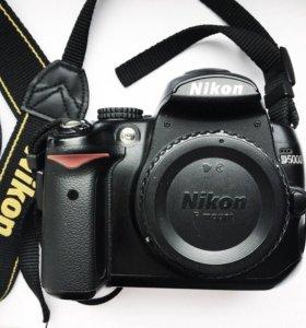 Nikon d5000 и kit 18-55