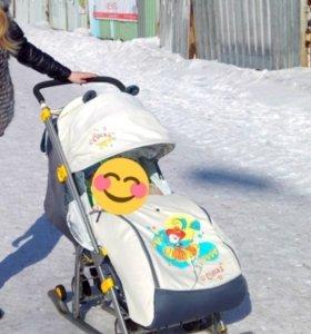 Санки - коляска