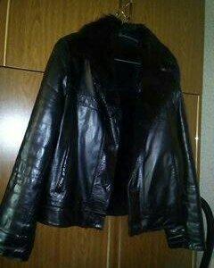 Куртка натуральная кожа мех бобрик