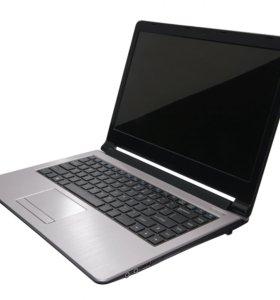 Ноутбук DEXP с ярким IPS дисплеем высокой четкости