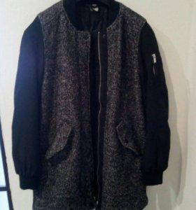 Пальто бомбер H&М жен.