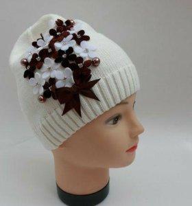 Новая шапка детская. Осень.