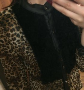 Блузка с мехом