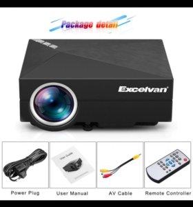 Мультимедийный проектор Excelvan gm60a
