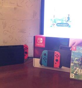 Nintendo Switch+The Legend of Zelda