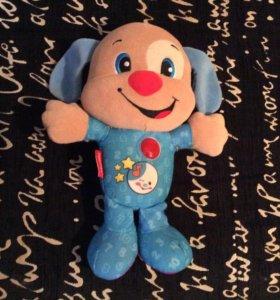 Мягкая игрушка Fisher Price Ученый щенок для сна