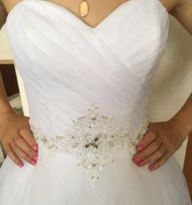 """Свадебное платье """"А"""" силуэт"""