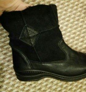 Зимние полусапожки ботинки новые