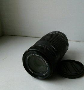 Объектив Canon EF-S 55-250 mm