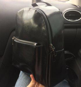 рюкзак новый кожа