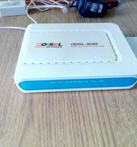"""Продаю модем  QDSL-1040 """"DISEL"""""""