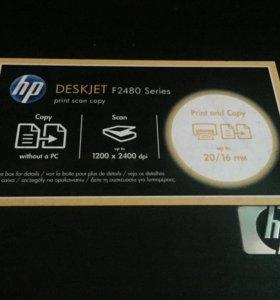 Принтер hp DeskJet F2480