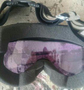 Очки маски для сноубординга