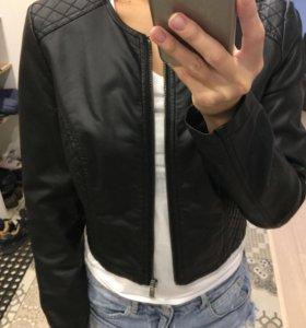 Кожаная курточка Mohito
