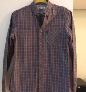 Мужская рубашка в клетку Ben Sherman S