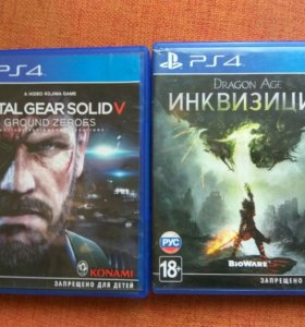 2 игры для ps4