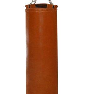 Боксерский мешок кожаный
