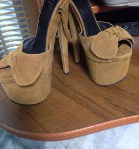Платформа. Туфли женские