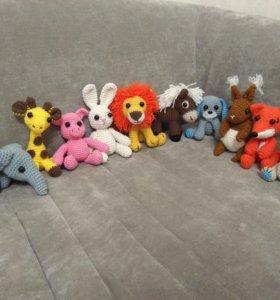 Вязаные игрушки (амигуруми)