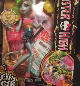 Monster high Lagoonafire freaky fusions новая