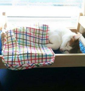 Кроватка/лежанка для кошек и котов