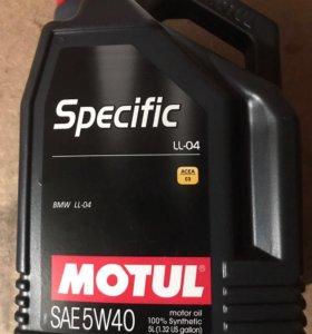 масло Motul Specific LL-04 5W40 5л.