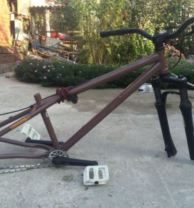 Велосипедная рама GT RUCKUSuf для мтб
