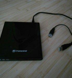 Внешний привод DVD-RW(Transcend)