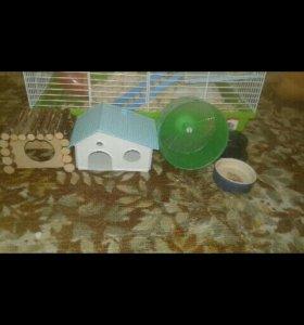 Клетка для грызунов (дегу,крыса ,хомяк,шиншилла)