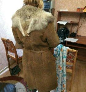 Дублёнка новая натуральная. Шуба. Куртка
