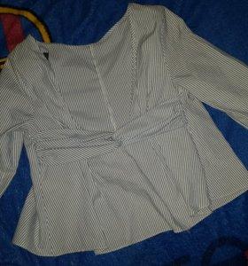 рубашка зара(обмен)