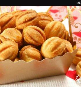 Орешки со сгущенкой😊 Домашняя выпечка 🍰