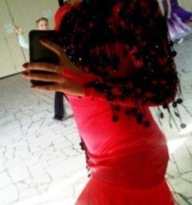 Огненное платье для танцев