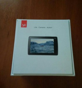 Xiaomi yi 4k новая чёрная экшн камера