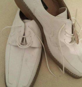 Туфли кожанные немецкие