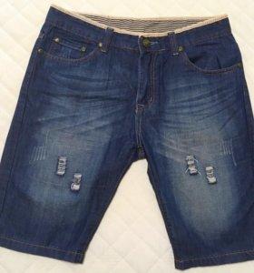 Шорты мужские джинсовые новые