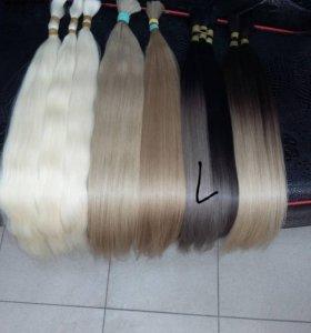Славянские волосы для капсульного наращивания